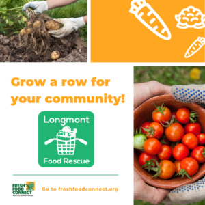 Grow a row for your community!